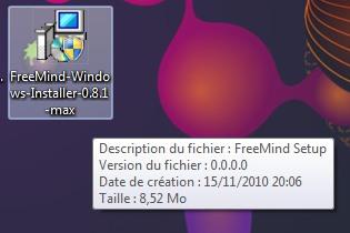 Installation FreeMind