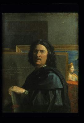 Nicolas poussin, autoportrait, 1650