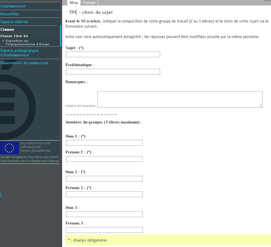 formulaire-e-lyco TPE