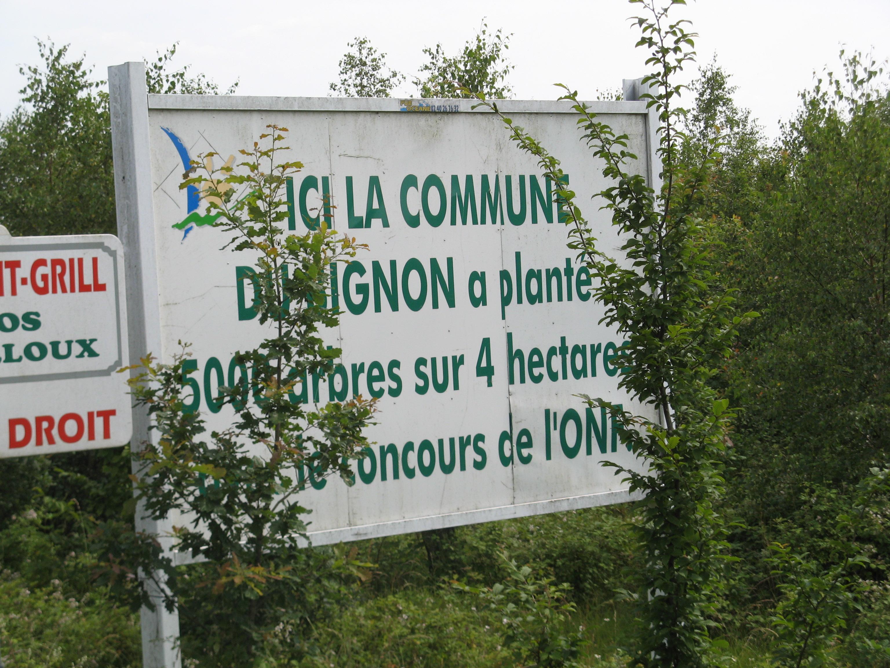 panneau Le Bignon