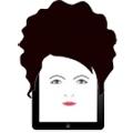 tablette numérique en coiffure