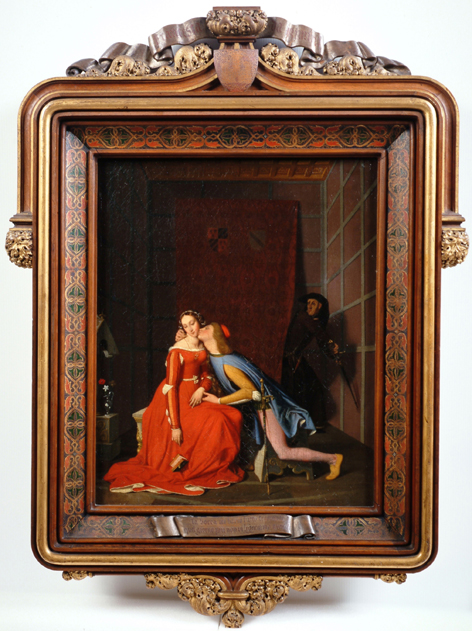 Jean Auguste Dominique Ingres, Paolo et Francesca, 1819