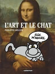 bande dessinée de Philippe GELUCK « L'art et le chat »