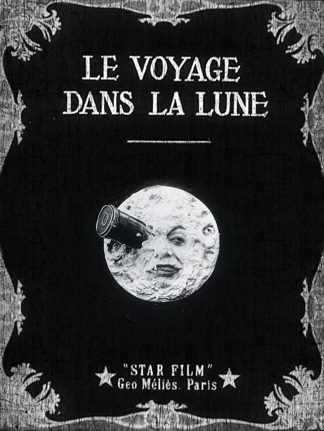Mélies, Voyage dans la lune, 1902