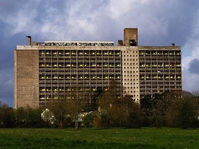 Le Corbusier Unité d'habitation Nantes Rezé 1953