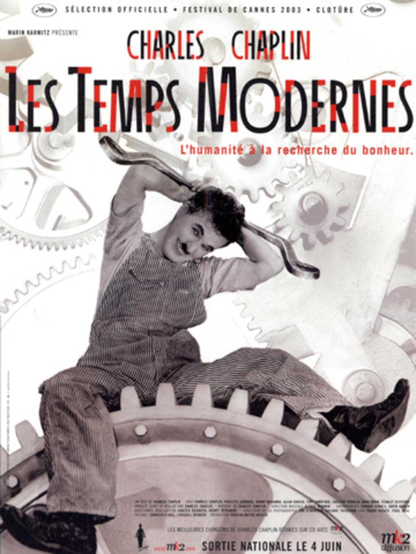 Les temps modernes, Chaplin, 1936