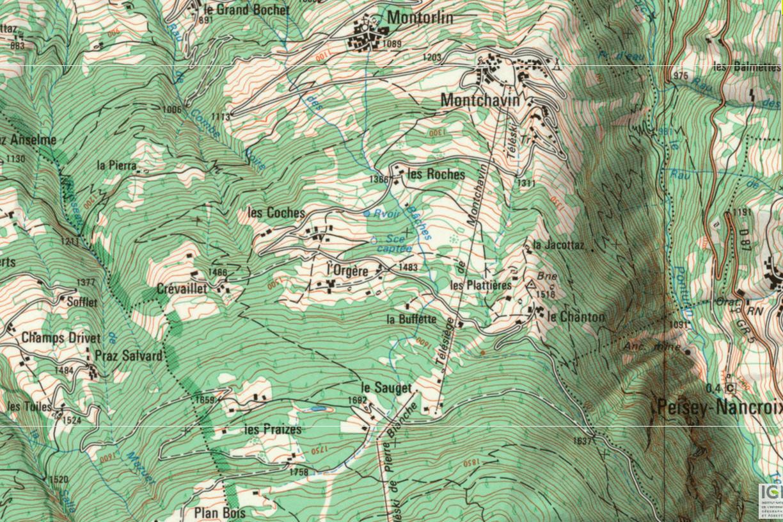cartographie 1974