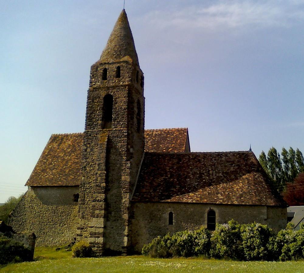 l'église des loges à Coudrecieux (Sarthe)