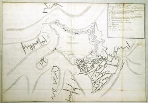 Plan du siège de Luxembourg, 1684