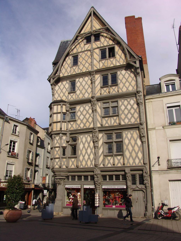 La maison d'Adam à Angers