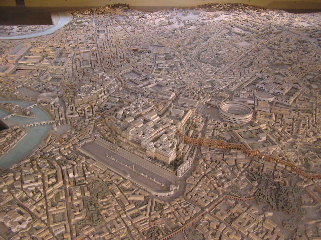 maquette de la Rome impériale