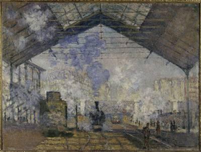 Monet La Gare Saint-Lazare