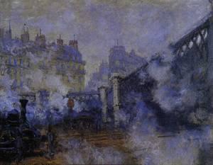 Monet Le pont de l'Europe