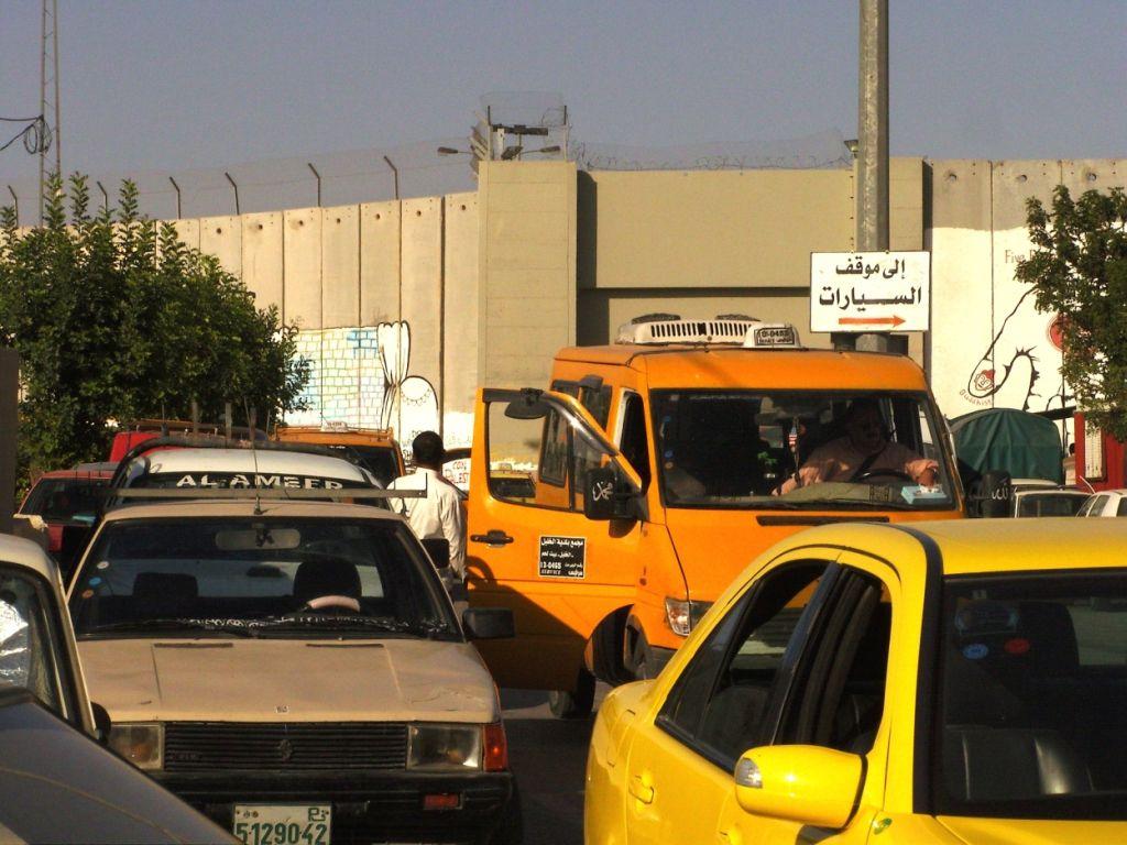 checkpoint à Béthléem
