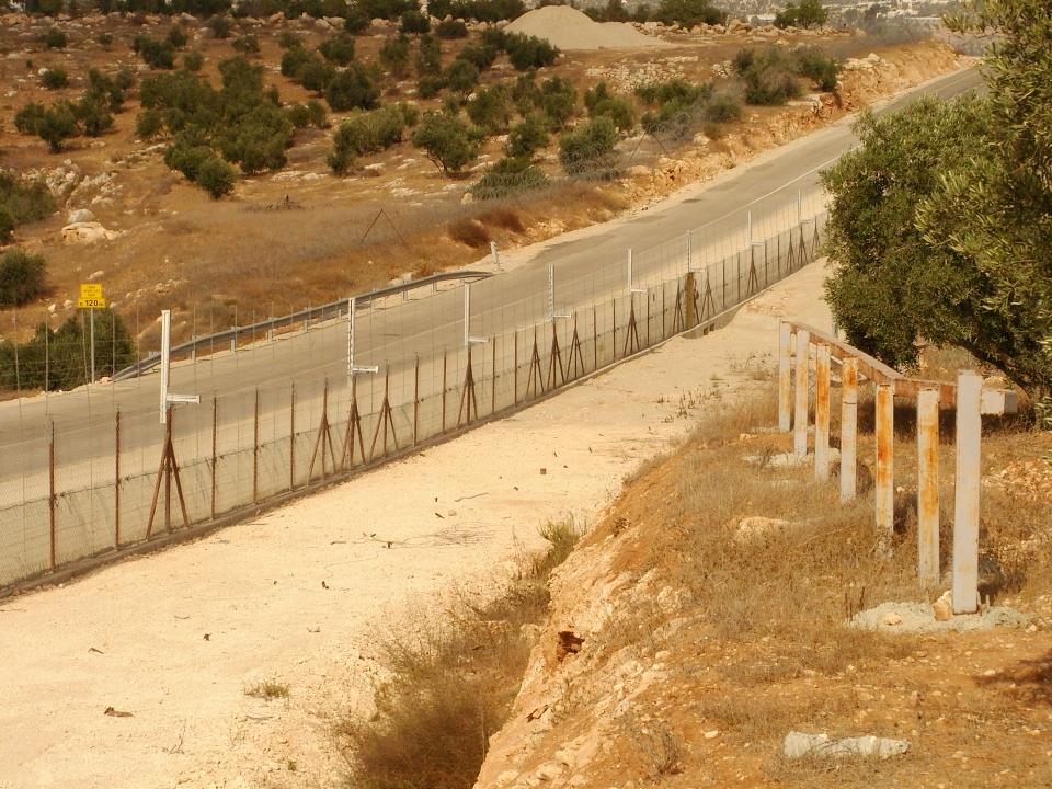 barrière entre Israël et la Cisjordanie