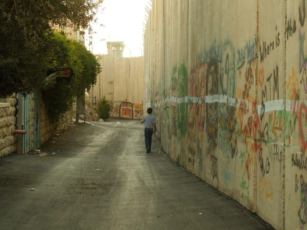 Le mur à Béthléem