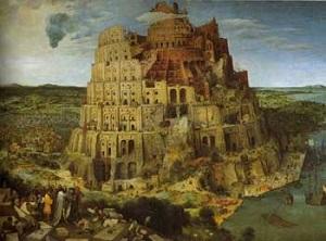 Peter Brueghel construction de la Tour de Babel 1563