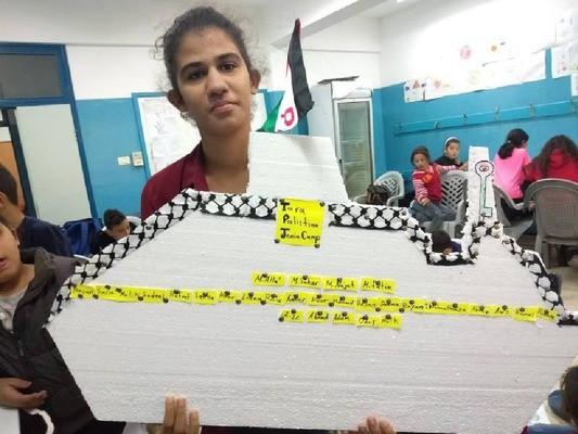 Illustration 2: Notre navire d'expédition vu par les élèves de Jénine.
