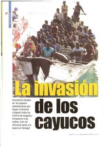 La invasión de los cayucos