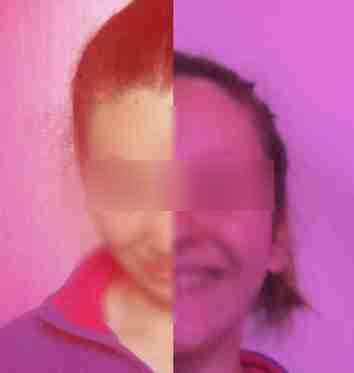 Portrait réalisé par les élèves avec différents filtres - exemple 3
