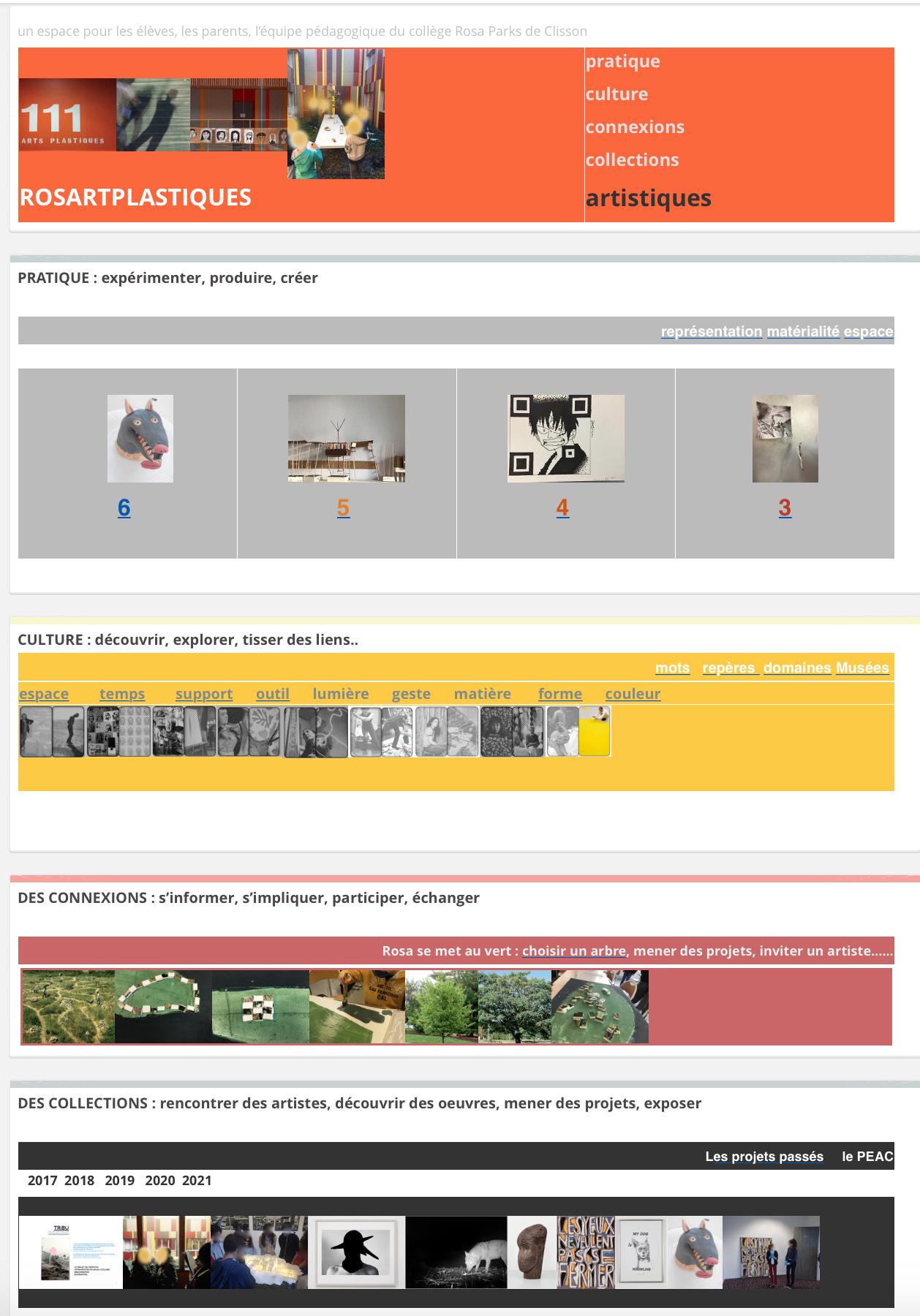 Pratique, culture, connexions, collections