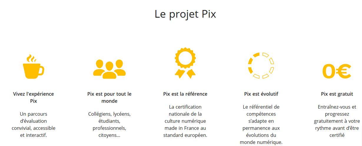 projet pix