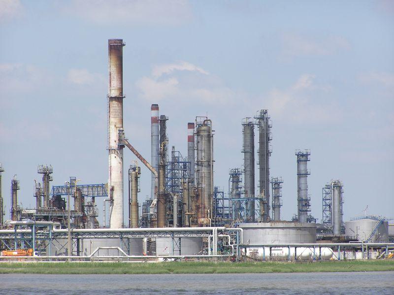 raffinerie vue de la Loire