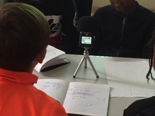 Webradio en CM - Phase d'enregistrement