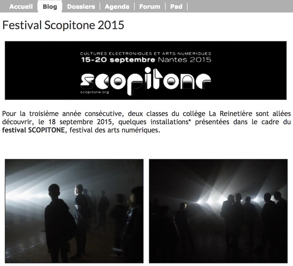 Scopitone 2015/2016