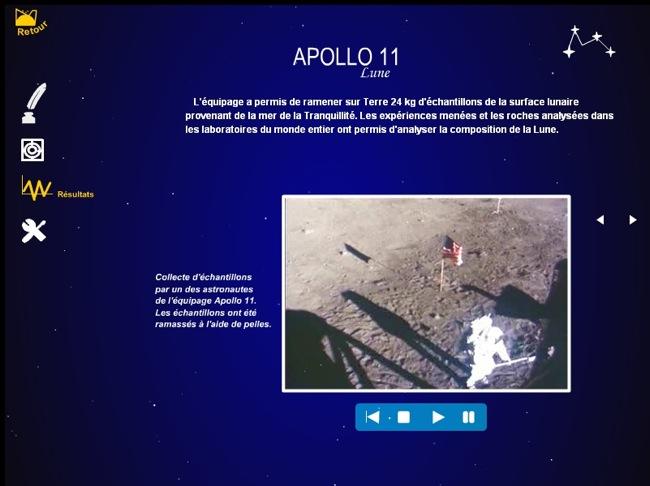 Vidéo de Apollo 11