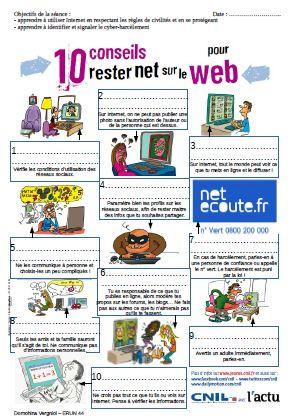 10 conseils pour rester net sur le web