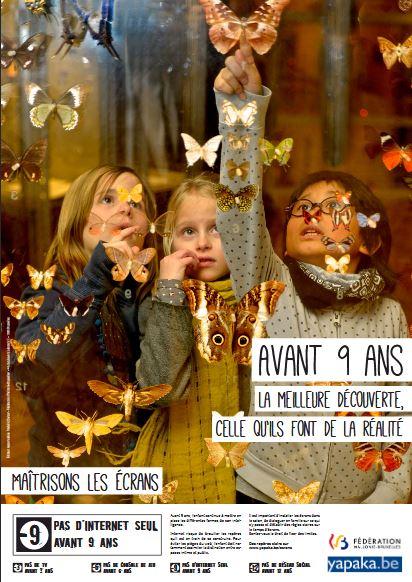 Affiche Semaine Sans Ecran - Avant 9 ans