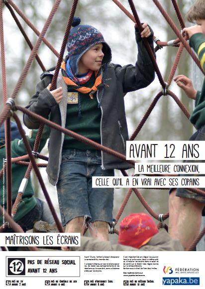 Affiche Semaine Sans Ecran - Avant 12 ans