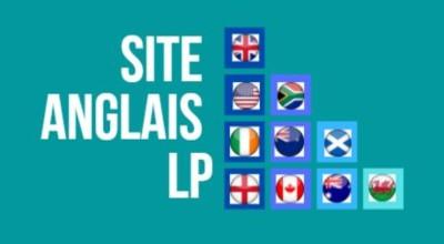 logo du site fond bleu canard