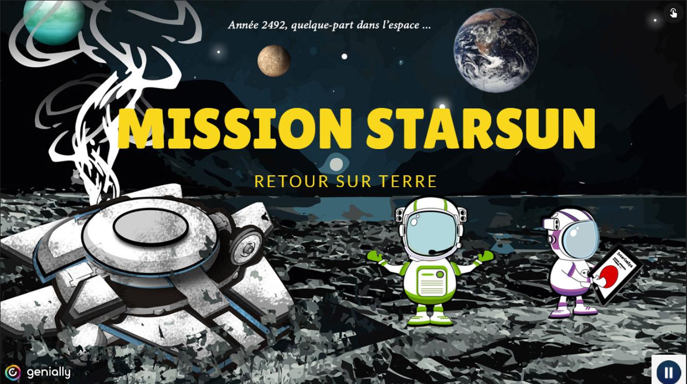 Escape Game : Mission starsun