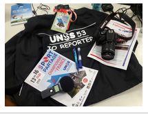 les jeunes reporters UNSS Sport partagé
