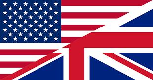 drapeaux US GB