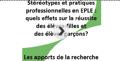 diaporama stéréotypes et pratiques pro en EPLE