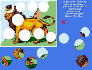 copie d'écran puzzles