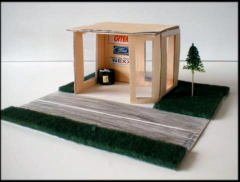 espace p dagogique arts plastiques insitu abribus. Black Bedroom Furniture Sets. Home Design Ideas