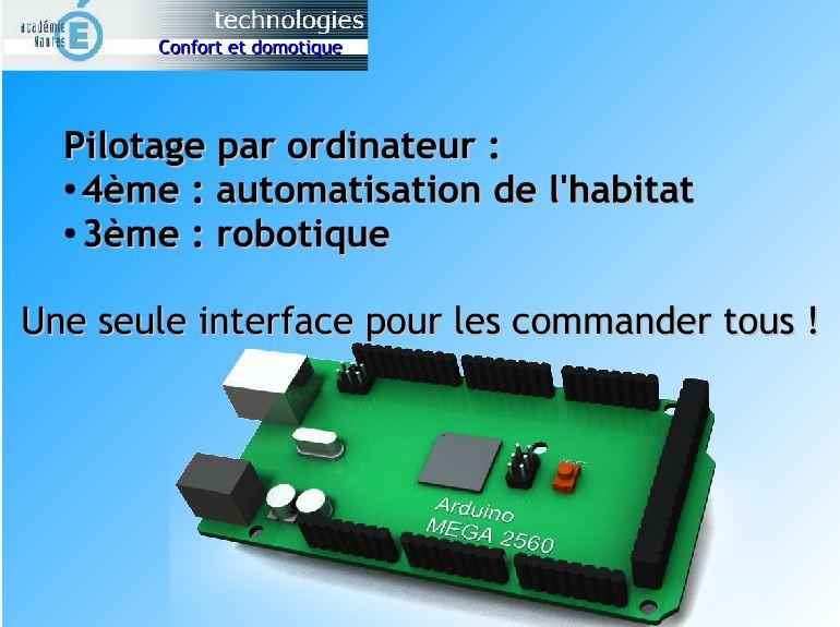 Espace pédagogique technologies et sciences des