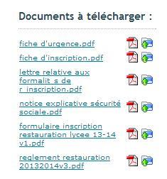 telechargement de documents
