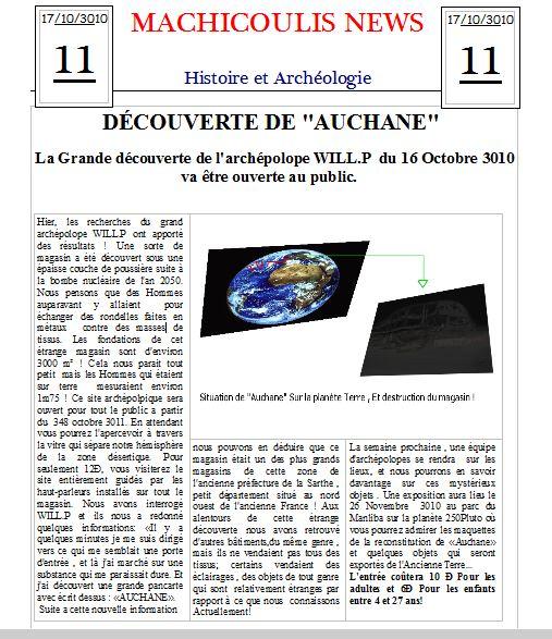 Espace p dagogique lettres cr er un journal du futur - Comment creer un journal ...