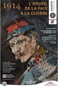exposition 1914 l'anjou de la paix à la guerre
